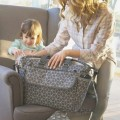 Torba FANCY geometric grey Joissy