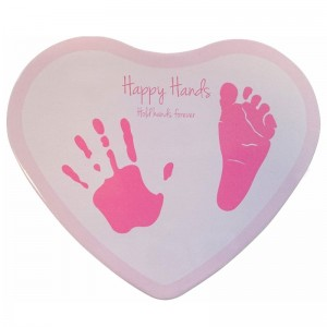Odcisk Heart pink Happy Hands