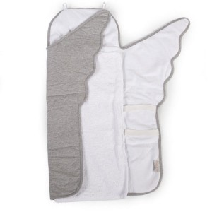 Mata do przewijania Angel jersey grey Childhome