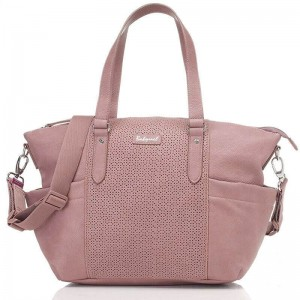 Torba do wózka Anya dusty pink Babymel