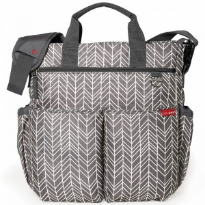 Torba do wózka Duo Signature Grey Feather Skip Hop