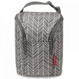 Etui na butelki Grey Feather Skip Hop