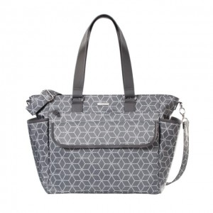 Torba do wózka Fancy geometric grey Joissy