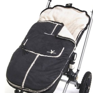 Śpiworek Nore baby black 6-36mc Wallaboo