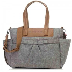 Torba do wózka Cara Bloom Grey Babymel