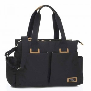 Torba do wózka Travel Shoulder Bag Black Storksak
