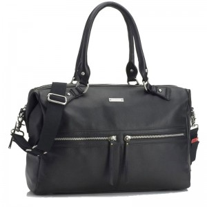 Torba Caroline Leather Black Storksak