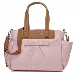 Torba do wózka Cara Bloom Dusty Pink Babymel