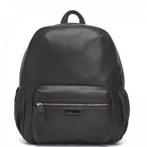Plecak Luna Black Leather Babymel