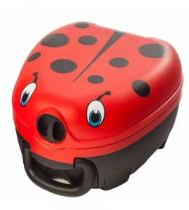 Nocnik przenośny ladybug My Carry Potty