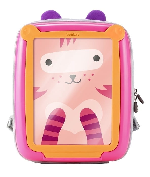 995e9146fc551 Plecak GoVinci pink orange Benbat - BabyMama.pl