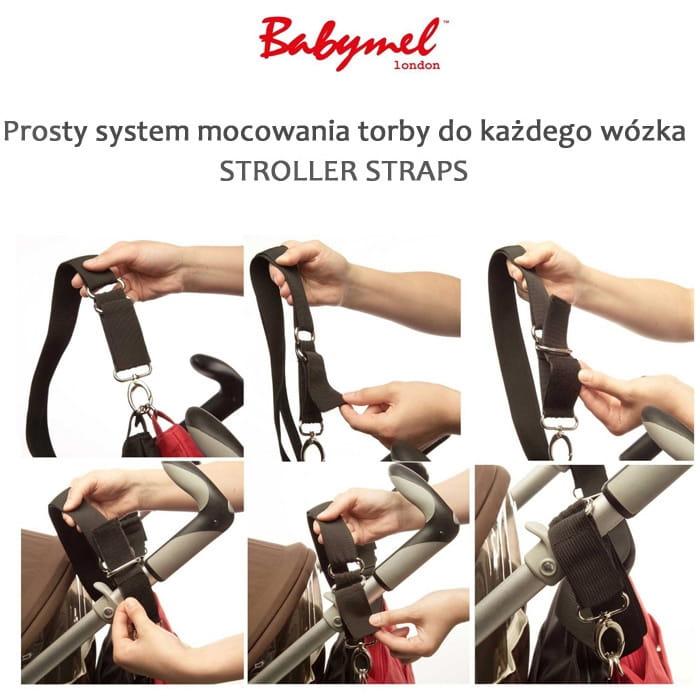 d940621e74d42 Torba plecak dla mamy Robyn eko skóra black Babymel - BabyMama.pl