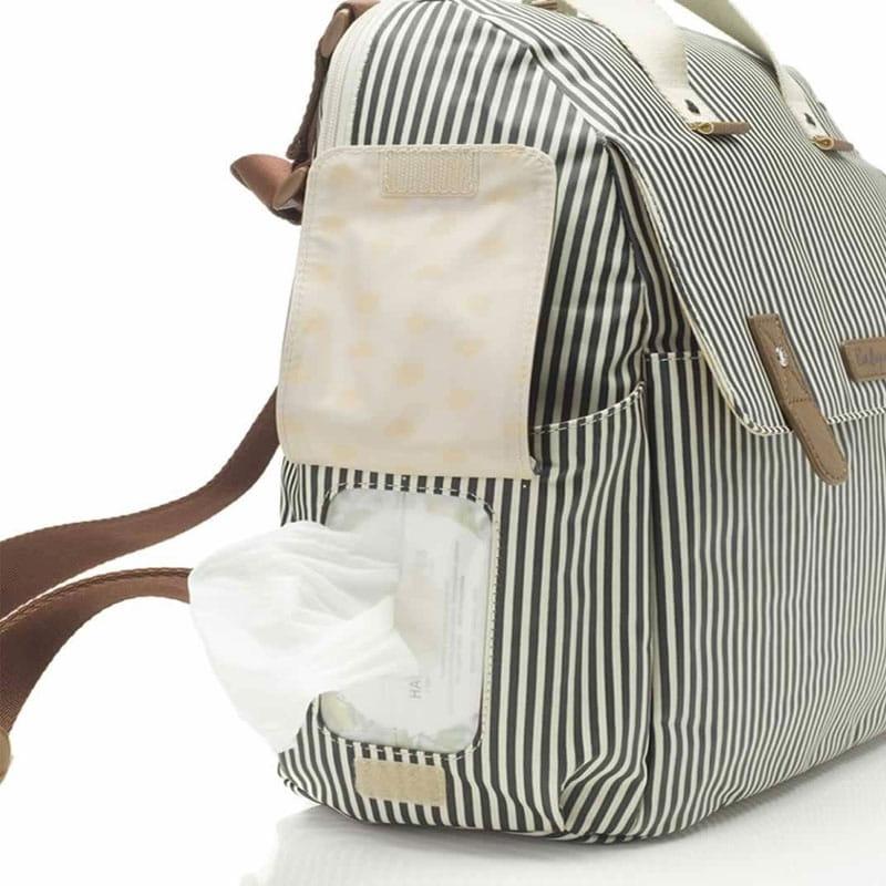 53995ce874c0e Torba plecak dla mamy Robyn navy stripe Babymel - BabyMama.pl