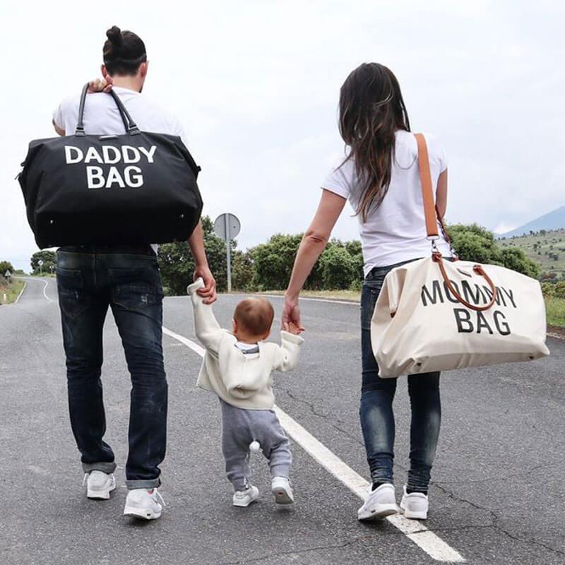 Torba Daddy Bag czarna Childhome - ❤ BabyMama.pl